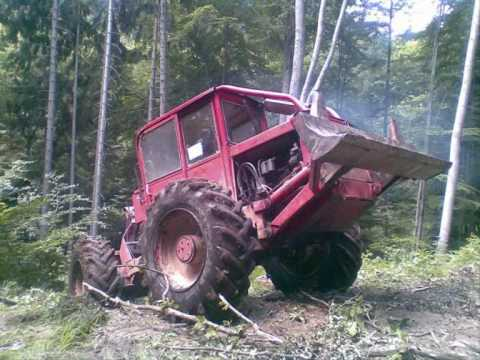 LKT 80 - Kolínek:  LKT 80 - přibližování dřeva práce v lese zrywka drewna skidder forest forst machine machines machinery praca w lesie