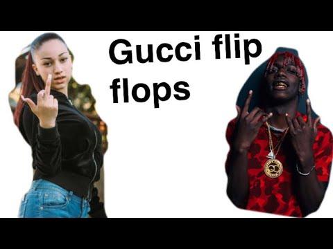 Gucci Flip Flops | Bhad Bhabie ft. Lil Yachty| (lyrics)