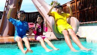 Video Swimming Song   Emma Pretend Play Nursery Rhymes & Kids Songs MP3, 3GP, MP4, WEBM, AVI, FLV Juli 2019