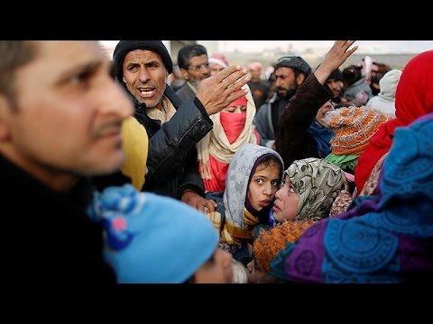 Σε καταυλισμούς εκατοντάδες κάτοικοι της Μοσούλης