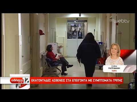 Εκατοντάδες ασθενείς στα επείγοντα με συμπτώματα γρίπης-Οδηγίες από το Υπ. Παιδείας | 13/02/19 | ΕΡΤ