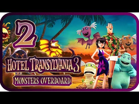 Hotel Transylvania 3: Monsters Overboard Walkthrough Part 2 (PS4, XB1, PC, Switch) 100%