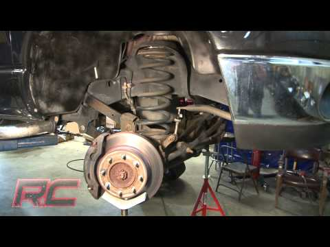 Rough Country's 03-13 Dodge 2500/3500 2″ Coil Leveling Kit Installation Video