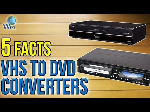 VHS To DVD Converters: 5 Fast Facts