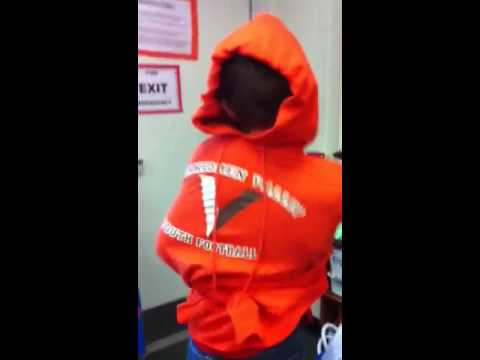 Record breaking time sweat shrit straight jacket