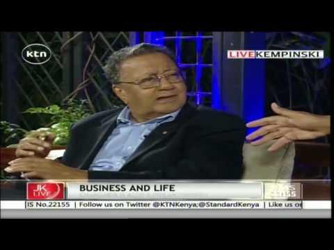 Jeff Koinange Live with Manu Chandaria- a business man and a philanthropist 25th May 2016 part 1