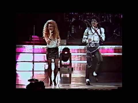 Michael Jackson - I Just Cant Stop Loving You - Live Wembley 1988 - HD (видео)