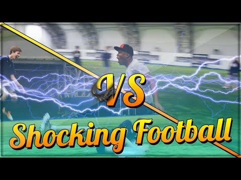Video: Footballers get 'electric shocks' every time they mis