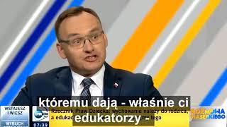 Piasecki nie dowierzał po słowach rzecznika praw dziecka.