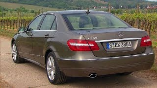 Mercedes E 250 BlueEFFICIENCY in the body of w212 was produced from June 2009 to February 2013. The car was equipped with a four-cylinder in-line petrol turbo engine M 271 DE 18 AL, volume 1796 cm³ and 204 hp (310 Nm). Acceleration from zero to 100 km / h - 7.7 seconds, the maximum speed of 240 km / h.#eclass #w212 #e250 #oldbenz