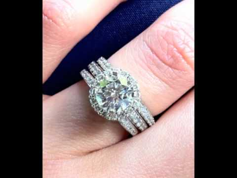 Custom Wedding Rings San Diego California - Vanessa Nicole Jewels Wedding Rings