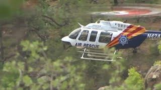 Eine Gruppe aus Familien und Freunden traf sich im US-Bundesstaat Arizona zum Baden in einer Schlucht - mehrere von ihnen wurden von einer Sturzflut in den Tod gerissen.