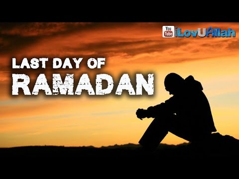 sad - Last day of Ramadan, short sad film produced by AlKauthar Institute.. May Allah (swt) accept our Ramadan and may He forgive our sins. ameen.