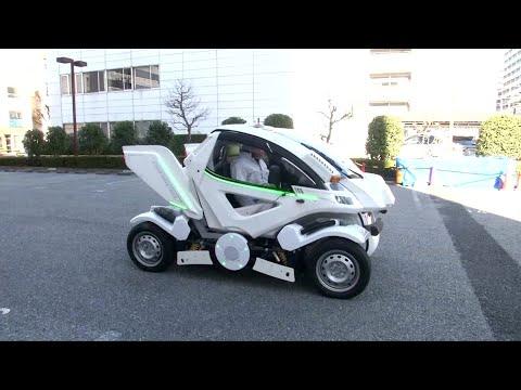 العرب اليوم - ابتكار سيارة قابلة للطي في اليابان