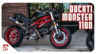 3. First Ride | 2009 Ducati Monster 1100 [Wrecked Bike Rebuild Season 1 - Finished Bike]