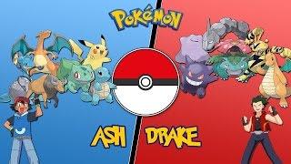 Ash Vs Drake (Orange League) -  Pokemon Battle Revolution  Let's Play 03