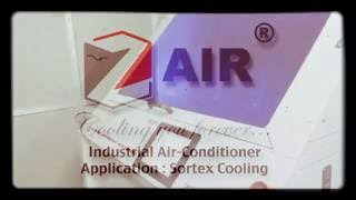 ZAIR Cooling machine Industrial AC for rice sortex machines