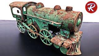 Video 1920s Dayton Toy Train Restoration - Antique Locomotive MP3, 3GP, MP4, WEBM, AVI, FLV Mei 2019
