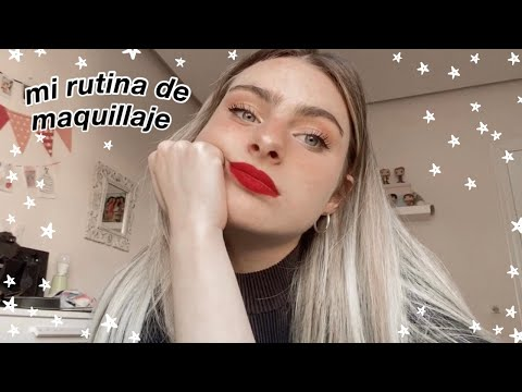 MI RUTINA DE MAQUILLAJE DIARIO | Marina Ggie🐰