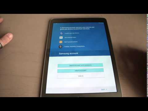 SamsungGalaxy Tab S2 Unboxing and first impression