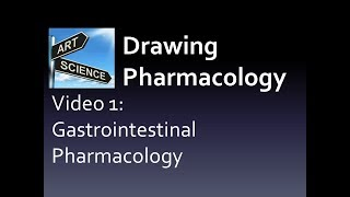 Drawing Pharmacology Video 1 of 7