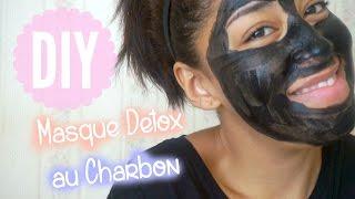 DIY ♡ Masque Visage au Charbon activé I DIY Français - YouTube