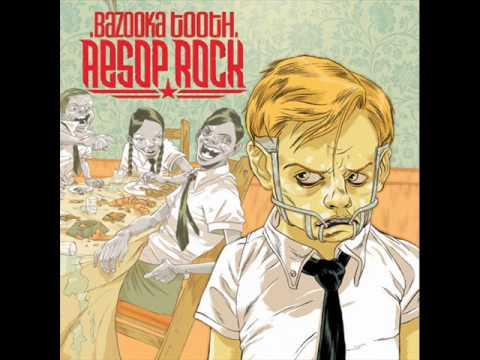 Tekst piosenki Aesop Rock - Bazooka Tooth po polsku
