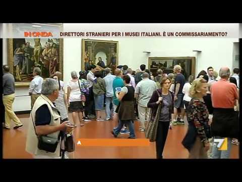 direttori stranieri per i musei italiani