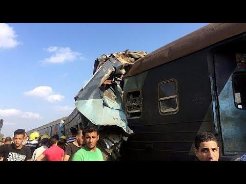Αίγυπτος: Αυξάνονται νεκροί και τραυματίες μετά τη σύγκρουση τρένων
