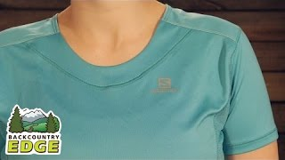 Check out the Salomon Women's Agile SS Tee at Backcountry Edge:...