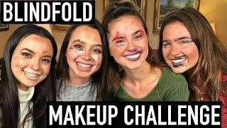 Video Blindfold Makeup CHALLENGE ft. Merrell Twins MP3, 3GP, MP4, WEBM, AVI, FLV Maret 2018