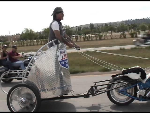 Motorcycle Chariot Racing