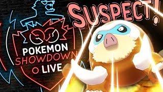 MAMOSWINE SUSPECT TEST #1 Pokemon Sword and Shield! Pokemon Showdown Live by PokeaimMD