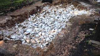 Robinson Landscape Pool Demolition Video