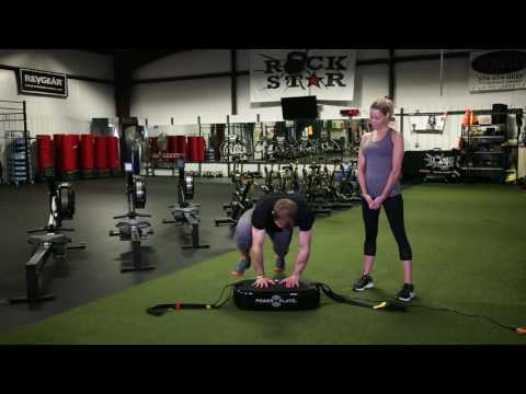 Power Plate training with Lisa Varga, Warrior Lunge