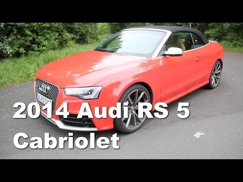 2014 Audi RS5 Cabriolet Review (English)