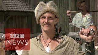The warrior Cossacks of Ukraine