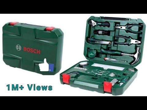 UnBoxing BOSCH Metal 108 Piece Hand Tool Kit By DsMehul