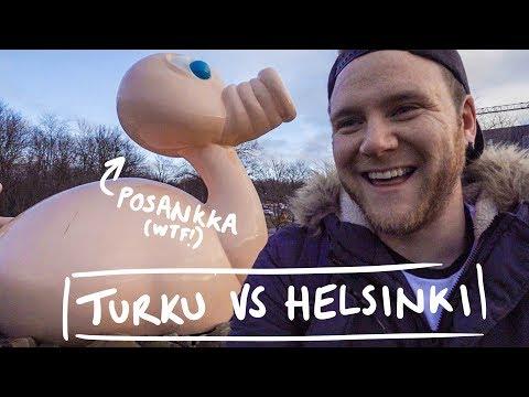 TURKU VS HELSINKI (Which city is better?)