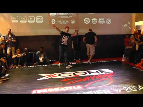FSTV l Eurobattle 2014 l UK Qualifiers l BBoying l Judges Showcase - Cesa, Mix, Sunni