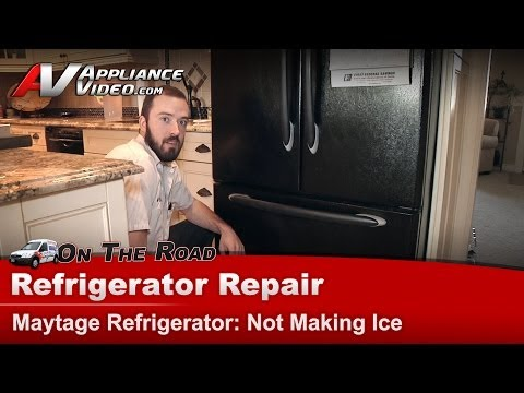Maytag Refrigerator Repair – Not Making Ice – MFF2557HEB
