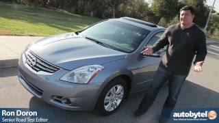 2012 Nissan Altima Car Review&Test Drive