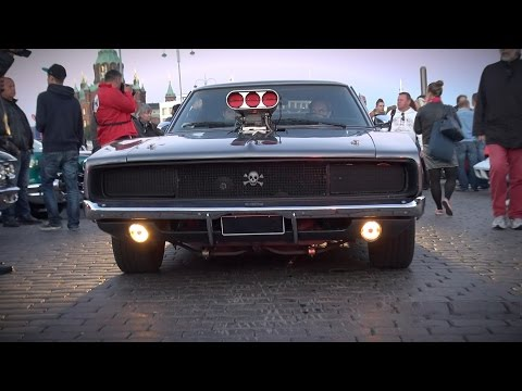 69 Dodge charger blown фото
