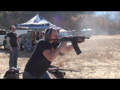 Machine Gun Shoot, Piedmont, AL Fall of 2011