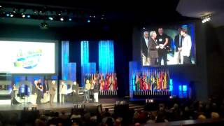 Jerry being commissioned by John Maxwell