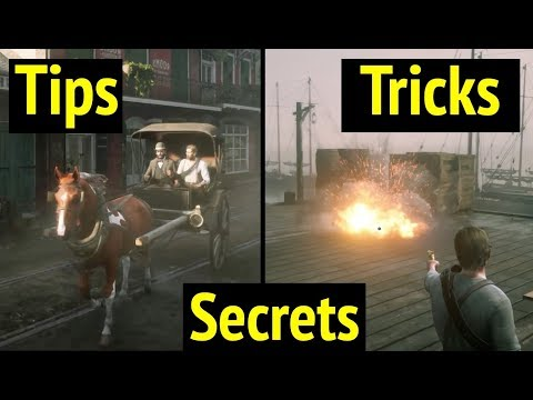 Awesome Tips and Tricks in Red Dead Redemption 2 (RDR2)