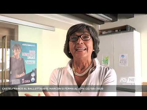 CASTELFRANCO AL BALLOTTAGGIO: MARCON SI FERMA AL 47% | 22/09/2020