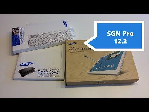 Samsung Galaxy Note Pro 12.2 Unboxing PL Rozpakowanie | Robert Nawrowski