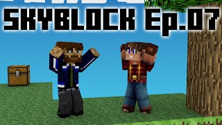 Taking Stock - Skyblock Ep.7 (with Kaine83)