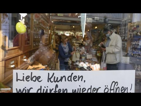 Kaufhäuser wie das »Kadewe« dürfen vollständig öffnen ...